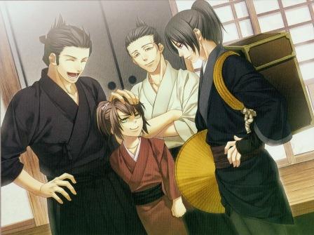 Image result for koundo talks to hijikata hakuouki
